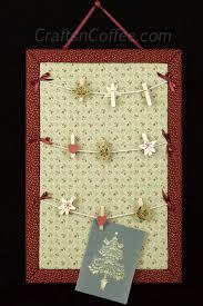 diy a cute clothesline bulletin board for your christmas card