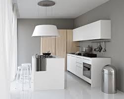 hotte de cuisine blanche îlot central cuisine fonctionnel 30 photos et conseils utiles