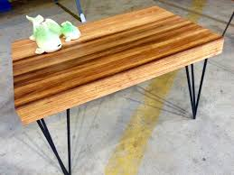 graewolfdesign graewolfdesign page 2 made from reclaimed hardwood joined into a thick butcher s block style table top with black hairpin legs this little number sold within 10 minutes of