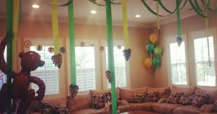 Jungle Home Decor Baby Shower House Decorations Stunning Baby Shower House