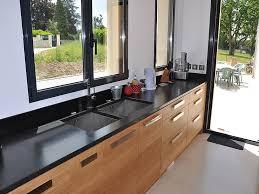 cuisine plan travail granit granits déco plan de travail en granit noir finition
