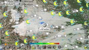 North East United States Map Us Doppler Radar Weathercom Southeast Doppler Radar 1800 Mile