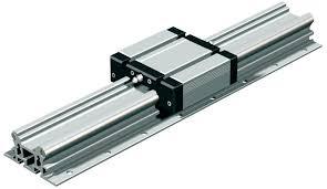 Common Guia linear de rolos / de precisão / em alumínio / de trilho - LFS  @GR24