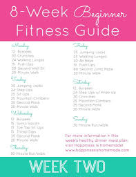 Easy Workout Plans At Home | level one exercise plan snag a pdf download of this routine on my