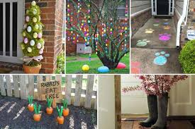 Religious Outdoor Easter Decorations by Easter Decorations For Outside 29 Cool Diy Outdoor Easter