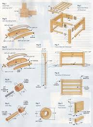61 best bench images on pinterest woodwork projects and