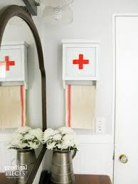 repurposed wall clock into swiss medical kit prodigal pieces