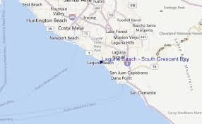 california map laguna laguna south crescent bay surf forecast and surf reports