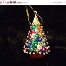 best vintage beaded christmas ornaments products on wanelo
