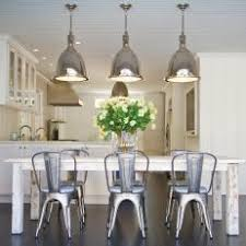 farmhouse table with metal chairs photos hgtv