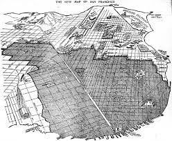 Map Of Union Square San Francisco by San Francisco 1906 Earthquake Marriage Project The New Map