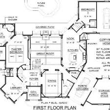 100 blueprint for homes spanish mission style house plans