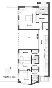 contemporary style house plan 4 beds 4 00 baths 3543 sq ft plan