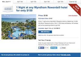 daily getaways free at a wyndham hotel for 150 deals we like