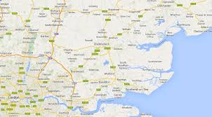 map of east uk map of essex east anglia uk measured designs
