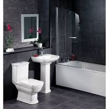 black and white tile bathroom decorating ideas love the contrast