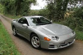mitsubishi 3000gt silver mitsubishi 3000 gt v6 4wd 4ws hollybrook sports cars