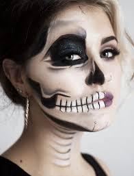 best 25 half face makeup ideas on pinterest skeleton makeup
