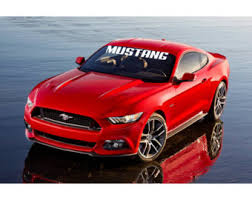 mustang windshield decal mustang decal etsy