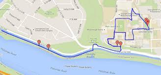 Georgetown Map Georgetown 5k Race Against Homelessness