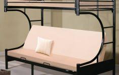 Bunk Bed Futon Combo Twin Over Full Bunk Bed With Trundle And Stairs White Archives
