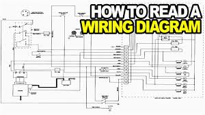 how to read an electrical diagram lesson 1 youtube and wiring