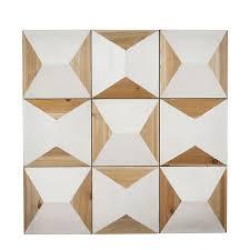 geometric wood panel wall home d cor nood nz