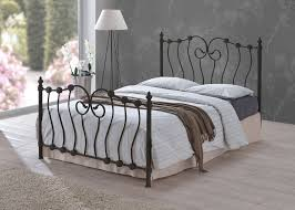 bedroom furniture frame bed king size metal double bed wood bed