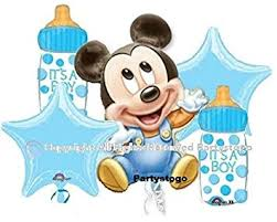 baby mickey baby shower mickey mouse baby shower balloons bouquet decorations
