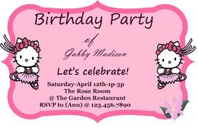 30 attractive free hello kitty invitations that you will love to