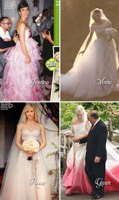 blush wedding dress trend 2013 wedding dress trends calgary wedding planner clark