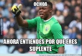 Ochoa Memes - memes real madrid y ochoa soñarán con kameni