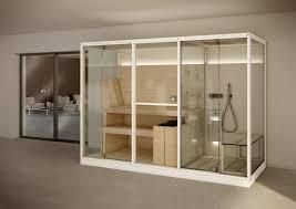 logica twin mid saunas from effegibi architonic