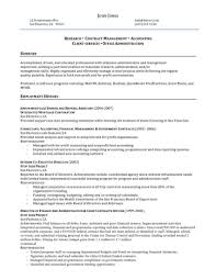 Resume Samples For Accounting by Manager Resume