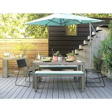 Patio Dining Set With Umbrella Outdoor Dining Table With Umbrella Lovable Outdoor Dining Table