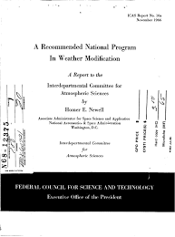 1966 us government document outlines national weather modification