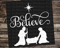 nativity svg etsy