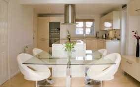 cool kitchen chairs kitchen dazzling design ideas using white tile floor and