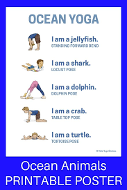 yoga poses pictures printable ocean yoga and books by giles andreae printable poster kid kid