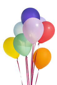 party balloons image of floating bunch of colorful party balloons freebie