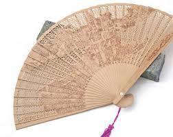 decorative fan fan etsy