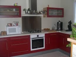 cuisine avec credence inox schön plaque inox pour cuisine haus design