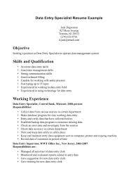 data entry clerk resume sample template data entry resume