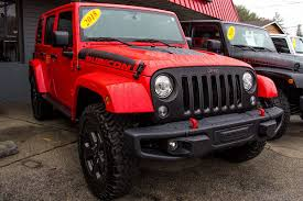 jeep wrangler red jeep wrangler rubicon recon unlimited red