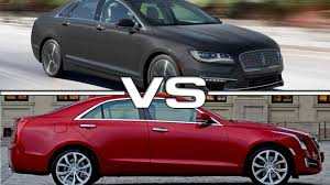 lincoln mks vs cadillac xts 2017 lincoln mkz vs cadillac ats