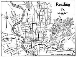 map of berks county pa berks county pennsylvania maps and gazetteers