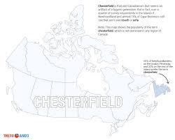 Newfoundland Canada Map by This Is How Canada Talks The 10 And 3