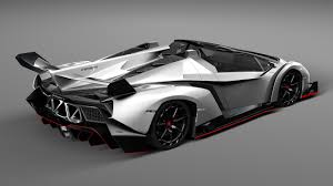 Lamborghini Veneno Exterior - lamborghini veneno roadster by korneelov 3docean