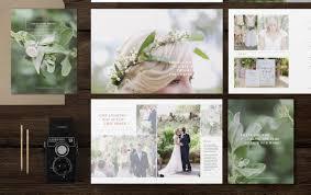 wedding magazine template for photographers photography