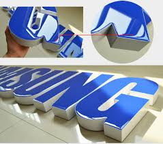 free sample led channel letter resin acrylic face m2 light stop